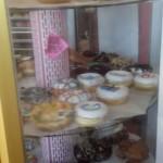 display case of voodoo doughnuts in portland oregon