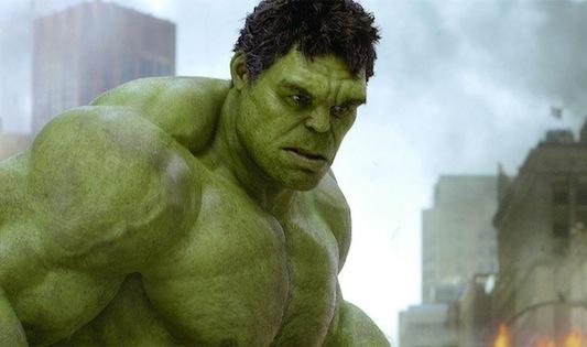 Hulk in Avengers 2012